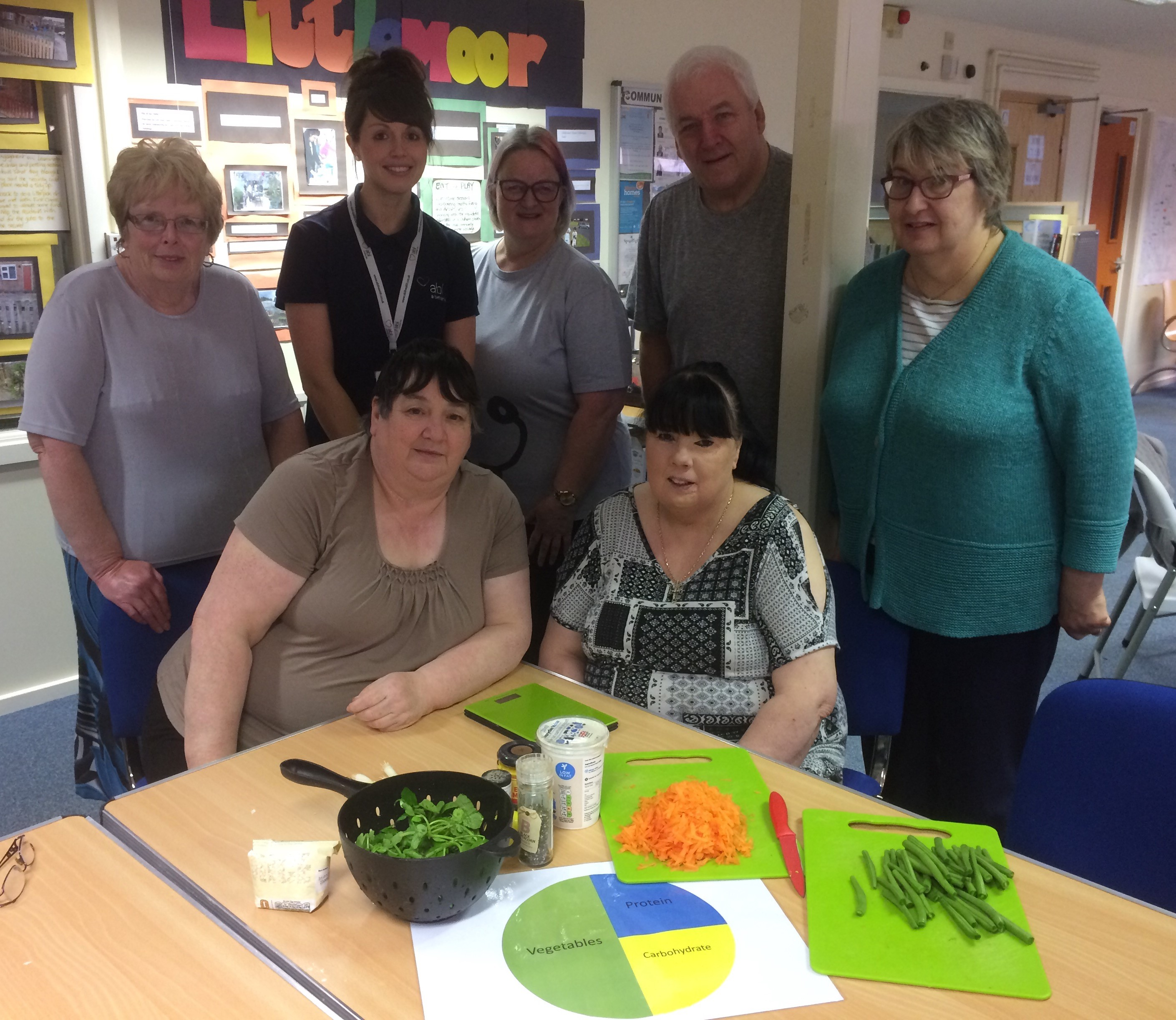 Healthy cooking sessions go down a treat!