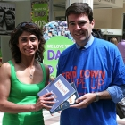'Man Food' recipe book presented to RT Hon Andy Burnham MP