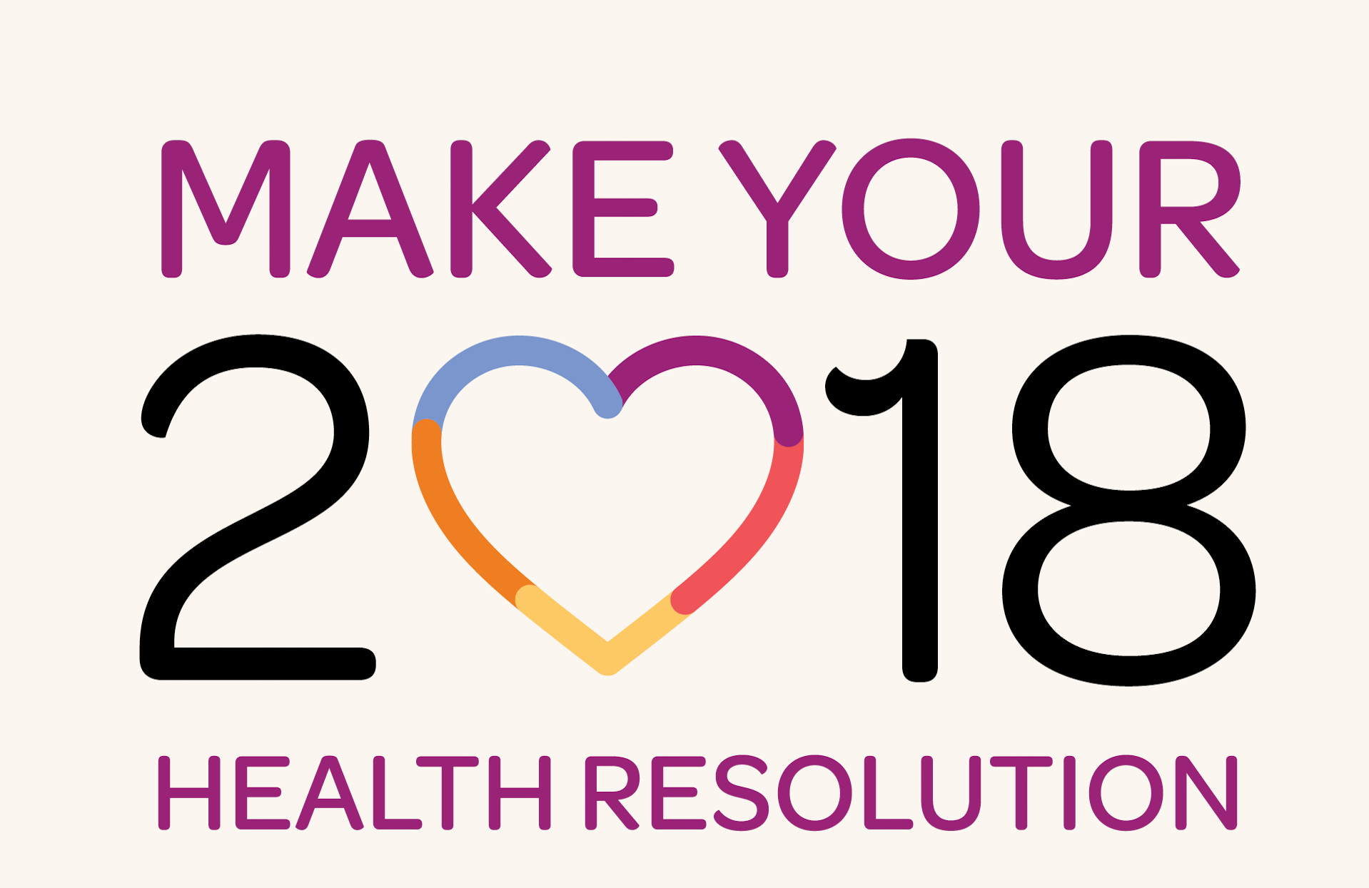Make your health resolution today!