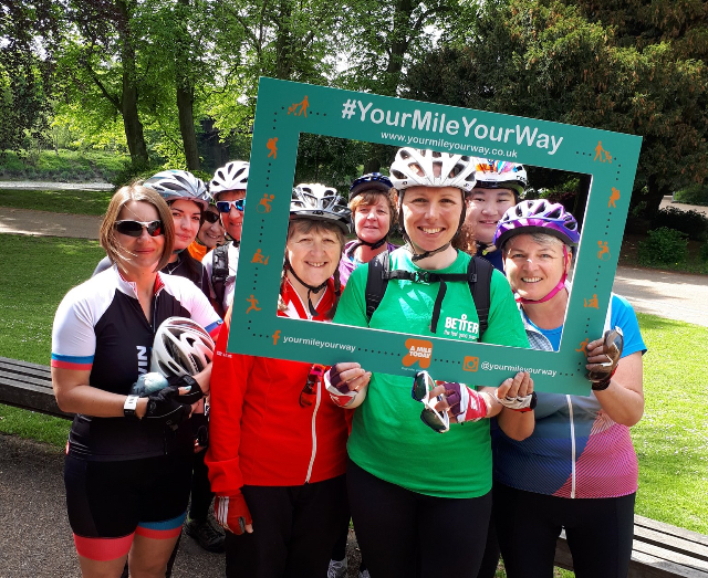 Your Mile Your Way campaign smashes target