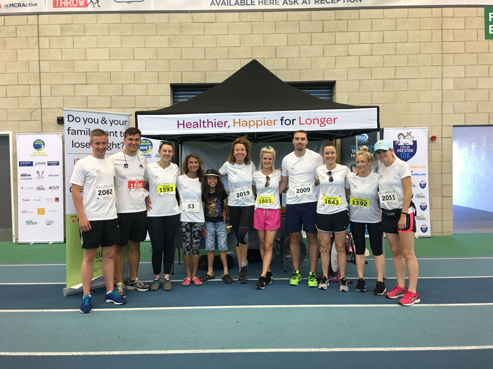 Team ABL joins runners in UKFast We Love Manchester 10k